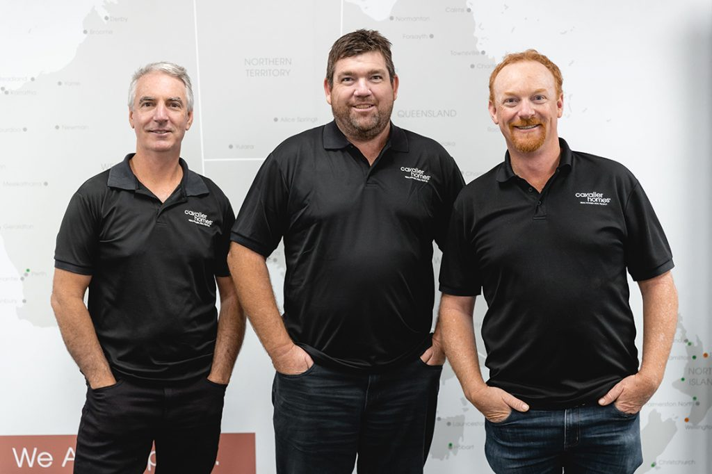 Discover our Cavalier Homes story - company directors Scott, Jason, and Dale